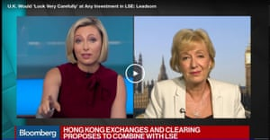 Andrea Leadsom on Bloomberg