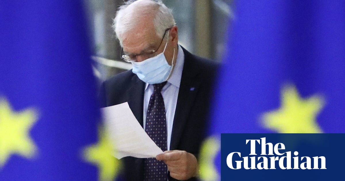 EU must be 'united and determined' on Russia sanctions, says Borrell