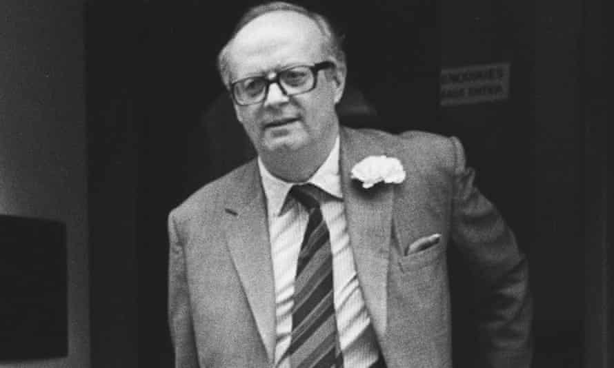 John Baring in 1987 - four years later he succeeded to the title of Lord Ashburton.