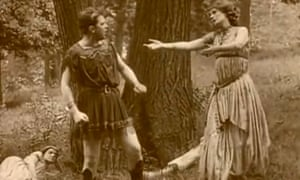 Powerful and accomplished … A Midsummer Night's Dream, Vitagraph, 1909.