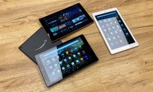 Amazon's updated Fire HD 10 tablet range