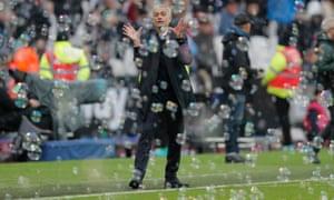 Tottenham Hotspur's new manager Jose Mourinho.