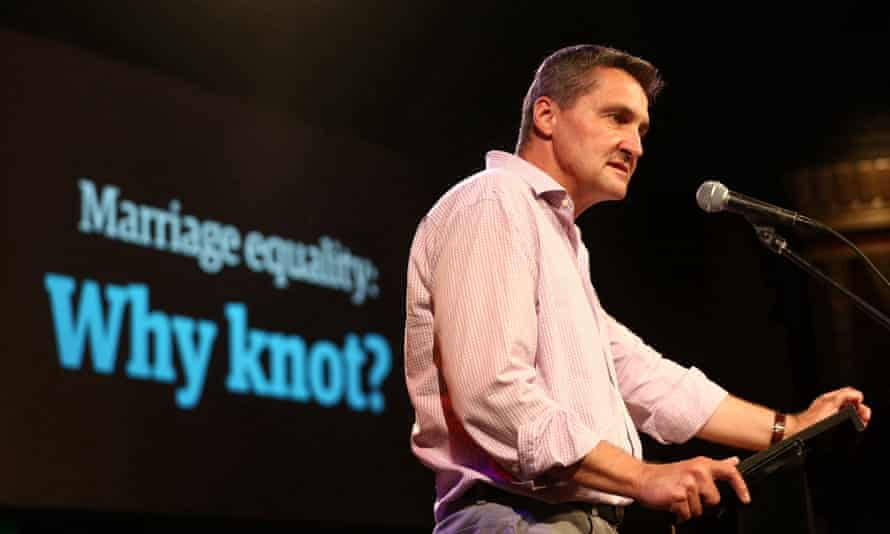 Rodney Croome at the Guardian Live Australian Marriage Equality event