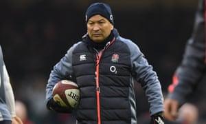 England's coach Eddie Jones