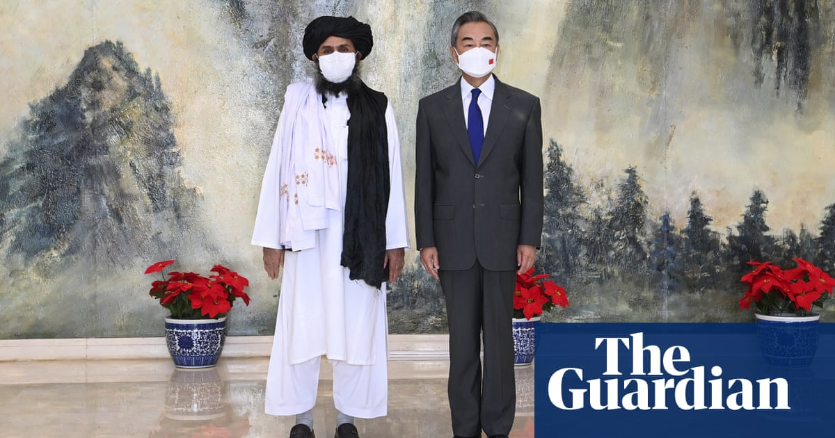 China's talks with Taliban could be a positive thing, US says