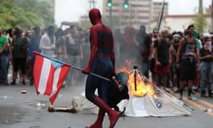 protest puerto rico