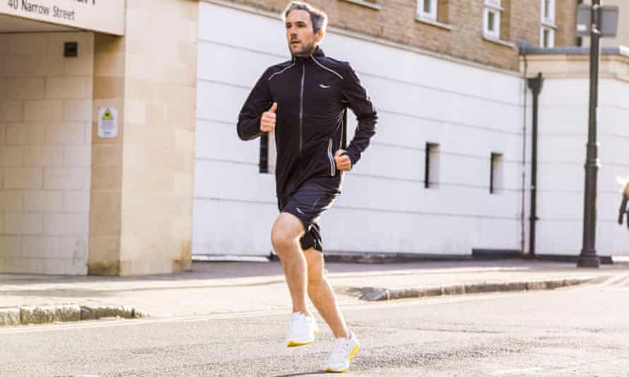 """Saucony has even named its latest shoe collection """"White Noise"""" after the mind-clearing effects of a run"""