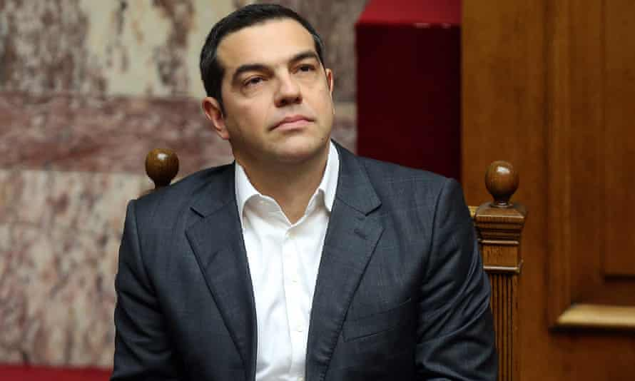 Greek prime minister Alexis Tsipras in Athens, Greece.