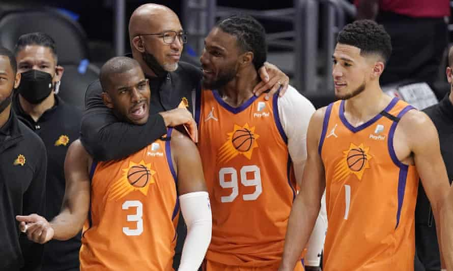 Monty Williams has helped forge a strong team spirit in Phoenix