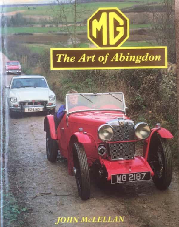 Book jacket for MG: The Art of Abingdon by John McLellan