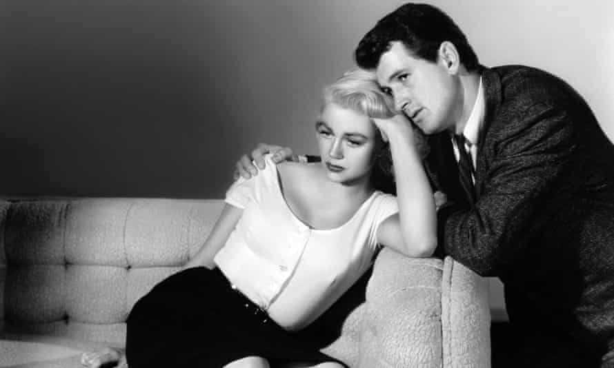 Dorothy Malone and Rock Hudson in The Tarnished Angels, 1957.
