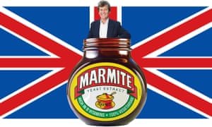 Melvyn Bragg and Marmite.