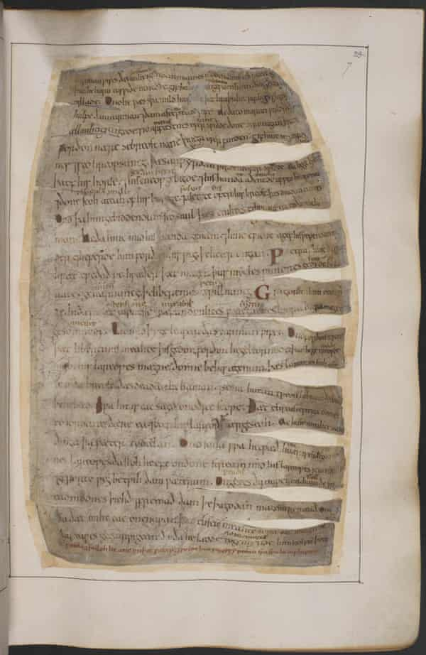 Cotton MS Otho C I/2 - The 'Tremulous Hand' – a 13th-century annotator whose manuscripts shed light on language change between Old and Middle English