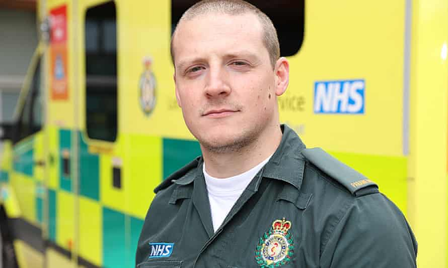 Paramedic Gary Edwards