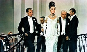 The making of a woman … Rex Harrison, Audrey Hepburn and Wilfrid Hyde-White in My Fair Lady (1964).