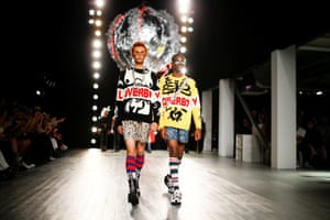 The Charles Jeffrey Loverboy catwalk show in June 2018.