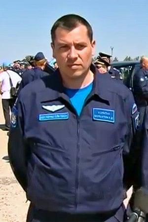 Rescued navigator Konstantin Murakhtin.