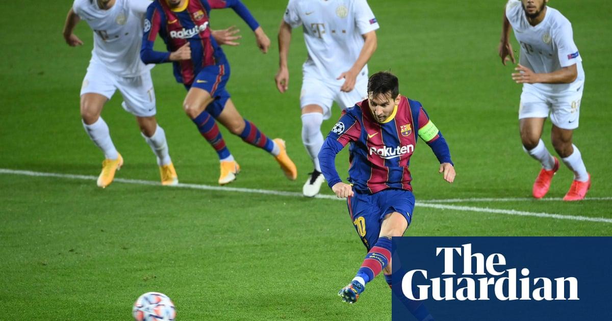 Champions League: Messi sparks Barcelona rout, Lazio sink Dortmund