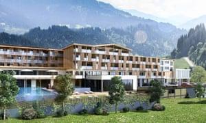 Exterior shot of Sport Resort Hohe Salve, Hopfgarten.