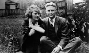 Zelda Fitgerald and F.Scott Fitzgerald. Their marriage was flawed but deeply loving.
