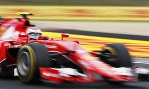 Is Kimi Raikkonen's Ferrari lacking power?
