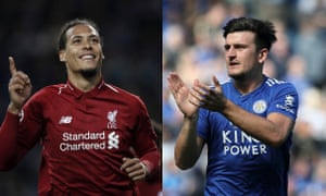 Virgil van Dijk and Harry Maguire.