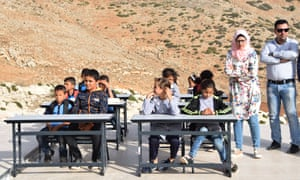 The classrooms were meant for 49 children in grades one to six.