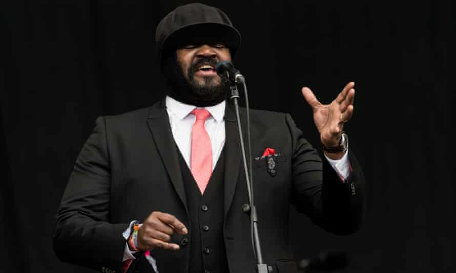 'Hope, resilience, compassion, defiance' … Gregory Porter at Glastonbury 2016.