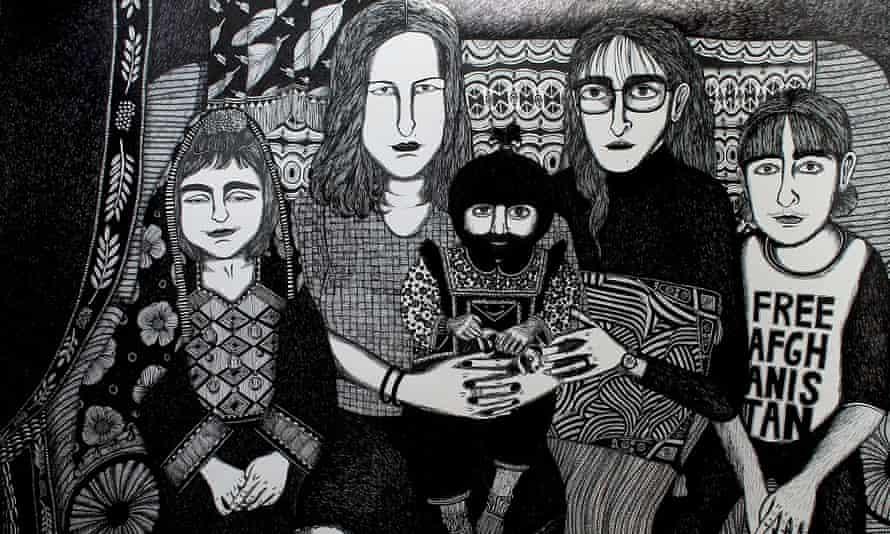 A work by Moshtari Hilal.