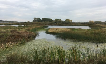Lagoon on Egleton Reserve, Rutland Water
