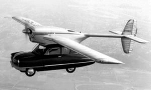 The Convair Model 118 – a car with plane wings stuck on top.