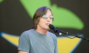 Jackson Browne performs at Glastonbury Festival on June 26, 2010.