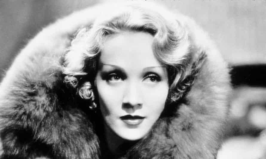 Marlene Dietrich in Blonde Venus, 1932.
