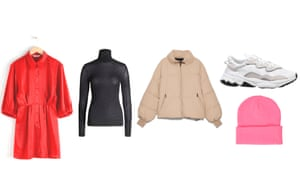 Winter dress, jacket and other items