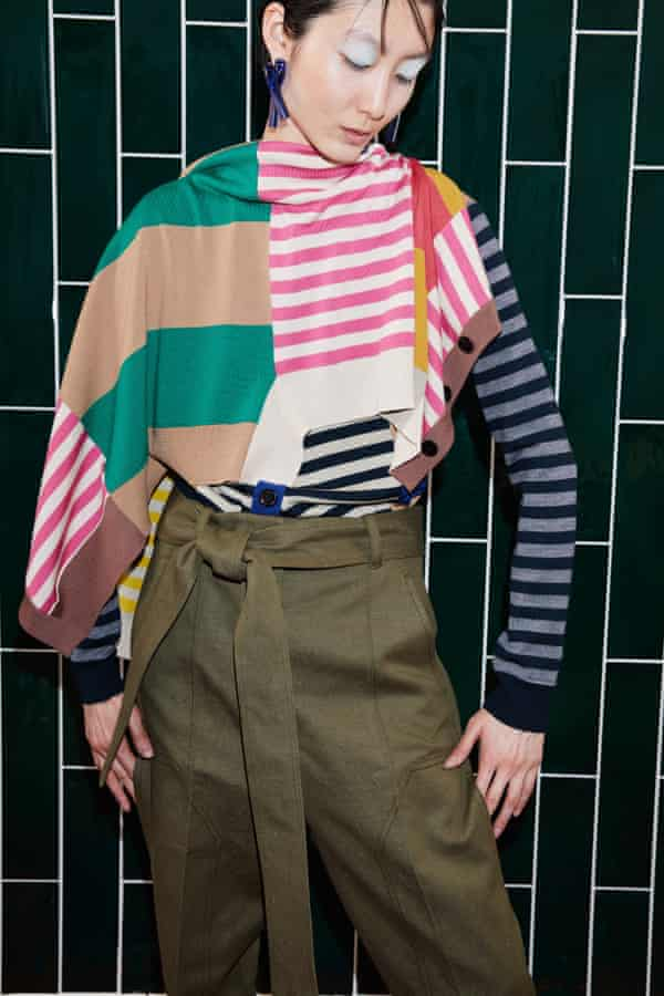 Get the look: Colville offers a 'niche fusion of fashion, art and craft'.