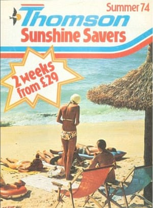 1974 Thomson sunshine savers brochure