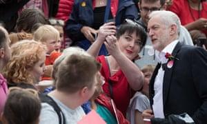 Jeremy Corbyn in Watford.