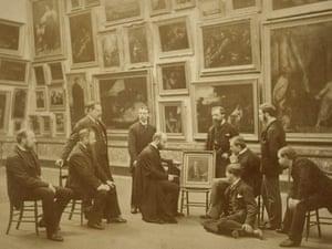 The staff of the Fitzwilliam museum c.1890