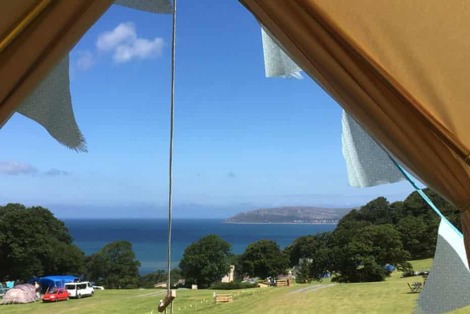 Trwyn Yr Wylfa Camping, Conwy