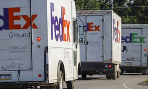 FedEx workers charge that their benefits are less than at rival UPS, where about 250,000 employees are represented by the Teamsters.