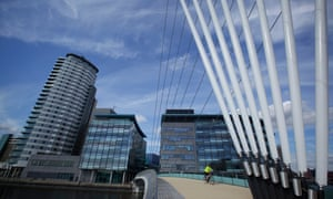 Life outside the capital: Media City in Salford.