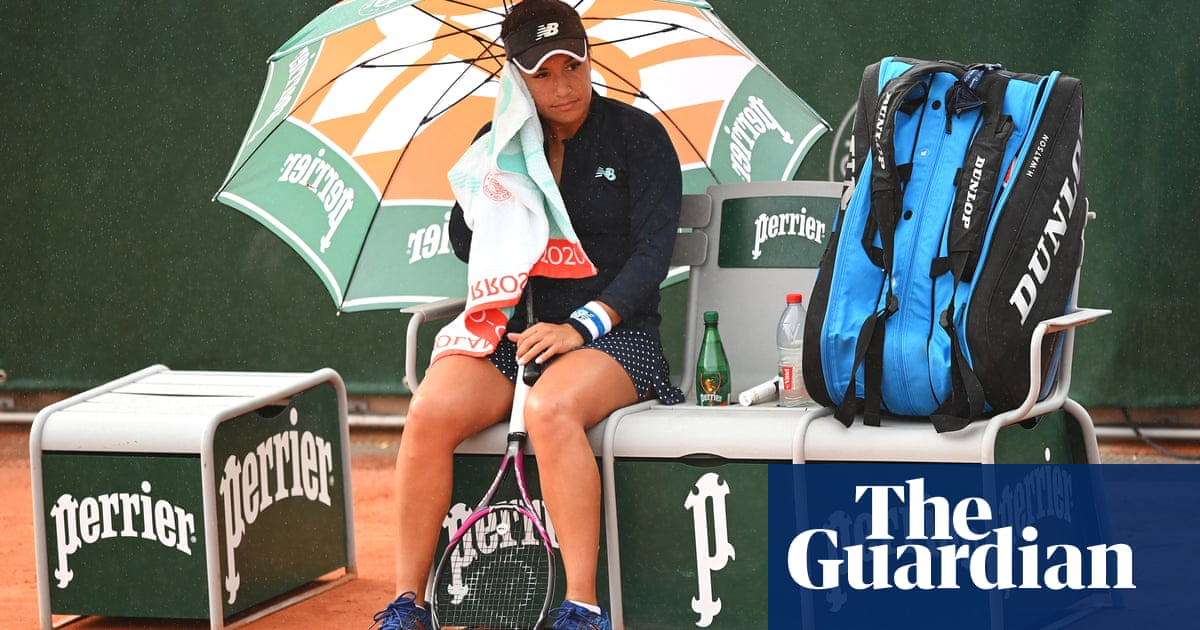 Alarm for British tennis as Watson completes set of French Open failures