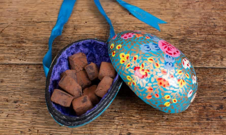 Booja-Booja truffles.
