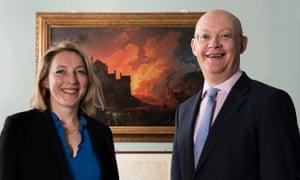 Tilly Blyth and Ian Blatchford, hosts of Radio 4's The Art of Innovation.