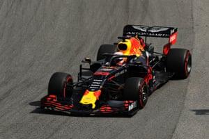 Max Verstappen wins the race.