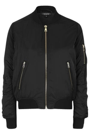 Topshop MA1 Zip Bomber Jacket, £55.00