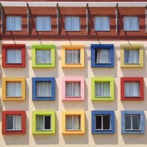 A dormitory in Bornova district, Izmir by Turkish architect photographer Yener Torun.