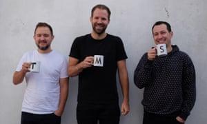 Tom Barnes, Peter Kelleher and Ben Kohn are TMS