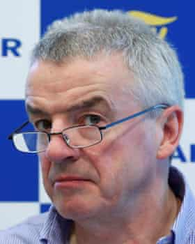 Michael O'Leary, the Ryanair chief executive.