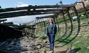 Caroline Crampton, author of The Way to the Sea: Forgotten Histories of the Thames Estuary